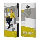 Officiel Star Trek personnages Ionici THS Coque à rabat en cuir pour Huawei Téléphones