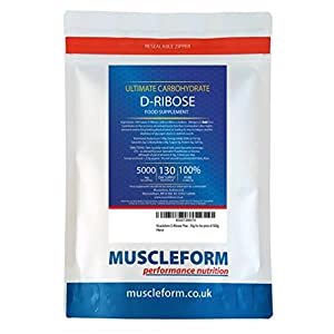 51cx8HrbbPL. SS300  - Muscleform D-Ribose ATP Fuel 100% Pure 1kg Powder - 200 Days Supply | Free Express Delivery