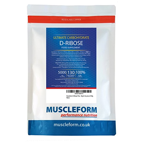 51cx8HrbbPL. SS500  - Muscleform D-Ribose ATP Fuel 100% pure 1kg Powder - 200 days supply | Free Express Delivery