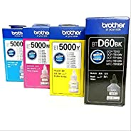 Brother Ink Bottle set for DCP-T310 T510W T710W MFC-T810W and T910W Ink Tank Printers