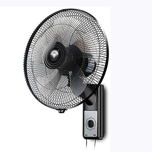 Zzhddp ventilatore pratico da parete silenzioso / ristorante industriale che scuote i ventilatori a parete / a testa / con telecomando / dormitorio / fabbrica / ventilatore elettrico ( colore : a )