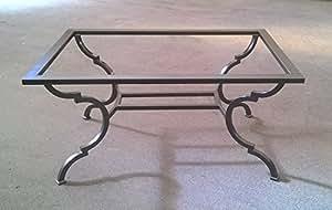 Tavolo tavolino in ferro battuto . realizzazioni personalizzate