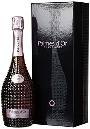 Champagne Nicolas Feuillatte Palmes d'Or Brut Rosé Vintage mit Geschenkverpackung Star (1 x 0.75 l)