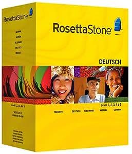 Rosetta Stone Version 3: German Level 1, 2, 3, 4 & 5 with Audio Companion (Mac/PC)