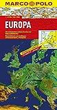 MARCO POLO Länderkarte Europa physisch 1:2,5 Mio. (MARCO POLO Länderkarten)