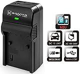 Baxxtar RAZER 600 II Ladegerät 5in1 - kompatibel für Akku Panasonic DMW BMB9 E - MicroUSB Eingang/USB Ausgang zum Laden von Smartphones usw.