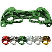 ALPIDEX Tabla de Entrenamiento Higher 2.0 - Tabla multipresa de 48 cm x 32 cm en Distintos Colores - Presa de Escalada, Tablero multipresa, Color:Verde-Moteado
