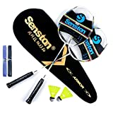 Senston Graphite Shaft Raquette de Badminton, Badminton Racket Set, comme...