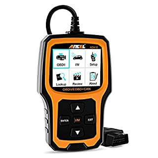 Ancel AD410 OBD II Automotive Code Reader Vehicle Check Engine Light Scan Tool Auto OBD2 Scanner wit