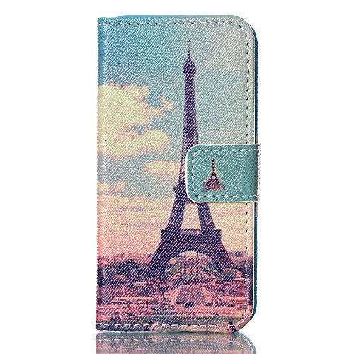 Nutbro iPhone SE Case, iPhone 5s Case, Wallet Style Case [Stand Feature] with Built-in Credit Card Slots Wallet Case for iPhone 5s / iPhone SE 78