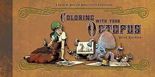 Kostüm M&m Easy - Coloring With Your Octopus: A Coloring Book for Domesticated Cephalopods