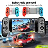 MeterMall CE Wireless Blautooth Game Controller Teleskop Gamepad Joystick für Samsung Xiaomi Huawei Android-Handy PC