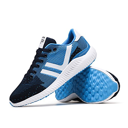 Scarpe Sportive Outdoor Uomo Scarpe da corsa Comode Respirabile 39-44 Blue