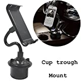 coscod Tablet Cup Mount Halterung Auto Wiege Kit, 360º drehbar Bendable...