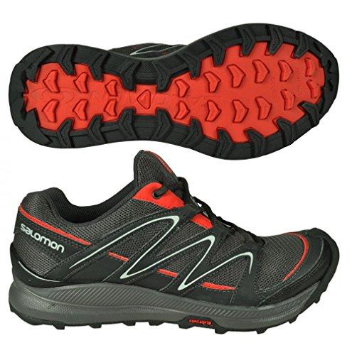 Chaussures de randonnées noires homme Salomon - Noir