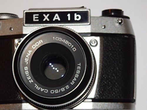 FOTOAPPARAT - EXA 1 b von PENTACON Dresden Made IN GDR DDR - mit Objektiv TESSAR 2.8/50 von Carl ZEISS JENA DDR ## Camera - SLR ## analog Photographic Technique by LLL ##