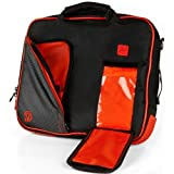 Vangoddy Messenger Bag geeignet für Lenovo Flex 41130/Yoga 710/IdeaPad 110S 120S/Tab410Plus/ThinkPad X1Tablet/N23Chromebook/29,5cm S schwarz/red