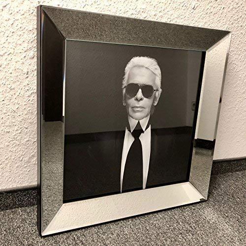 Colmore Edles Bild Spiegelrahmen Karl Lagerfeld 50x50cm Spiegel Rahmen Gemälde