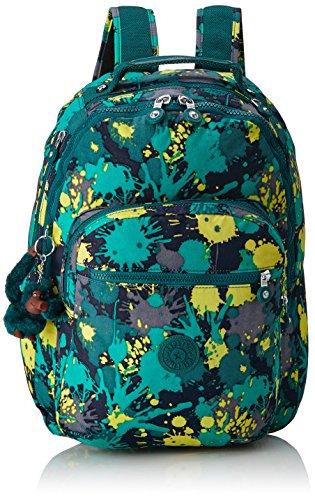 Kipling K15015E16 Clas Seoul Sac à dos - Couleur Bright Paint PR - 25 l