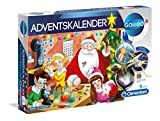 Clementoni 59080 Galileo Science Adventskalender 2018, Mehrfarben