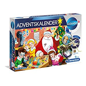 Clementoni 59080 Galileo 2018 Science Advent Calendar, Multi-Colour
