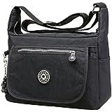 Voberry Leisure Womens Girls Waterproof Nylon Messenger Bags Shoulder Bags