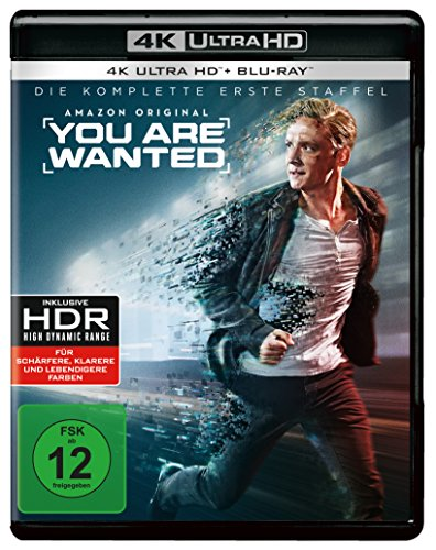 You are wanted - Die komplette 1. Staffel - Ultra HD Blu-ray [4k + Blu-ray Disc]