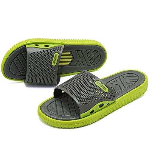 Verde Piscina Welltree Trascinano Spiaggia Asciutto Sandalo Uomini Veloce Doccia Giardino Pantofole xwT1pqqBU