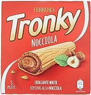 Kinder Ferrero Tronky Croccanti Wafer alla Nocciola, 5 x 18g
