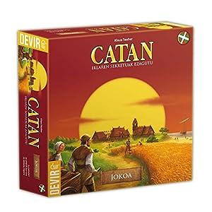 Devir - Catan, juego de mesa (BGCATEUSK) - Idioma euskera