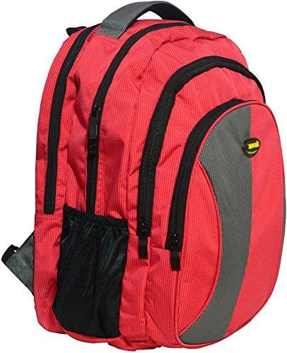 Newera Polyester 40 Ltrs Waterproof Red School Bags
