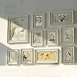 Multi-Picture-Bilderrahmen-Set, Wand-Rahmen-Set, große Fotorahmen-Wand-Set, Haus und Wand-Dekorationen, Vintage Bilderrahmen, Gallery Wall Frame Set (RD10)