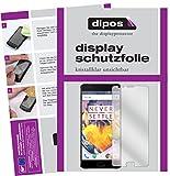dipos I 6X Schutzfolie klar passend für OnePlus 3T Folie Displayschutzfolie