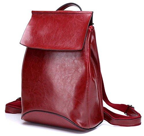 yaagle-women-girl-leisure-cow-leather-fashion-retro-school-backpack