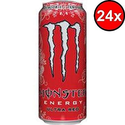 Monster Ultra Red, 24x500ml, 24er Pack