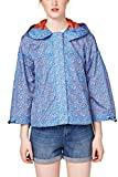 edc by ESPRIT Damen Jacke 068CC1G001, Blau (Blue 430), Medium
