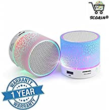 SCORIA® S10 Subwoofer Wireless Bluetooth Speaker With Ipod For All Android/IOS Smartphones (Multi-Color)