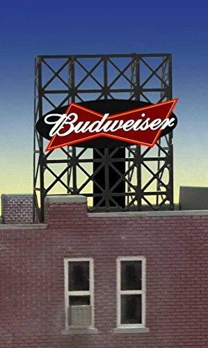 33-8815-n-z-scale-budweiser-billboard-by-miller-signs-by-miller-engineering