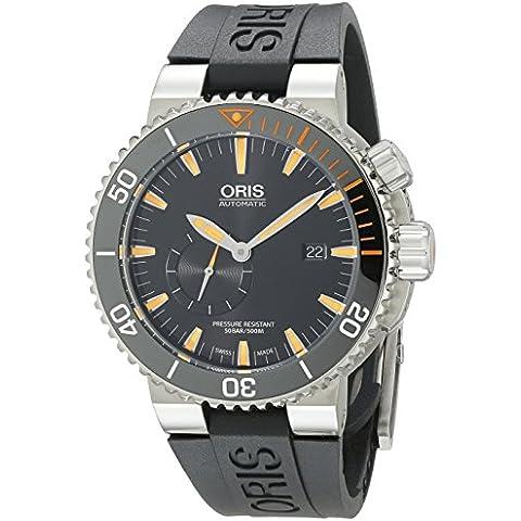 Oris Carlos coste Limited Edition IV 2000piezas 743.7709.7184. RS 46mm Automático Caja de titanio negro goma antirreflectante Sapphire Reloj para