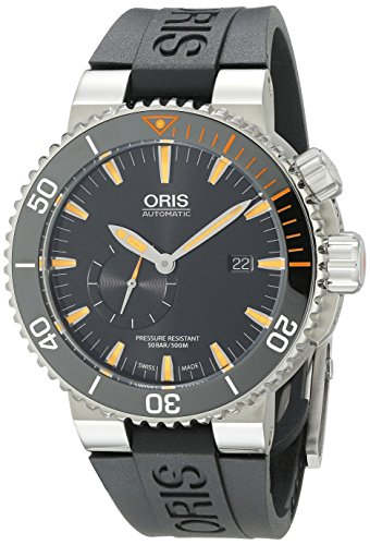 Oris Carlos Coste Limited Edition IV 2000 pieces 743.7709.7184.RS 46mm Automatic Titanium Case Black Rubber Anti-Reflective Sapphire Men's Watch