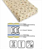 lifestyle4living Matratze für Kinder mit Bonell-Federkern, Kinderbettmatratze Liegefläche 70x140 cm, Babymatratze mit waschbarem Baumwollbezug