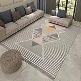 AITU Carpet Wohnzimmer Boden Türmatte Teppich Rutschfeste Sofa Teppich Couchtisch Fußmatte, 160X230 cm