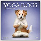 Yoga Dogs - Joga-Hunde 2017-18-Monatskalender: Original BrownTrout-Kalender [Mehrsprachig] [Kalender] (Wall-Kalender)