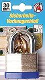 Kraftmann Sicherheits Vorhängeschloss, 30 mm, 85030