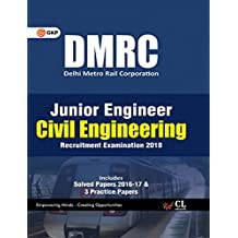DMRC Junior Engineer Civil Engineering Recruitment Examination 2018