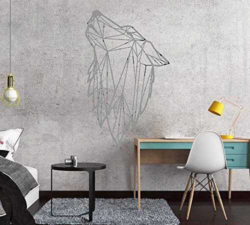 Zaosan Nordic Style Art geometrische Wolf Vinyl wandaufkleber Wohnzimmer Dekoration Aufkleber Schlafzimmer Dekoration wandtattoo wandbild tapete