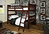 Twin Over Twin Mission Bunk Bed by Donco Kids