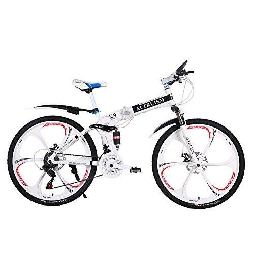 Altruism Vélo VTT 26 Pouces pour Homme et Femme avec Frein à Disque arriè