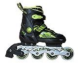 Axersport, Inline Skates, verstellbar, grün, S