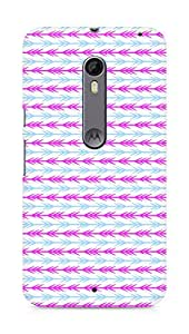Amez designer printed 3d premium high quality back case cover for Motorola Moto X Style (Cool Arrow Pattern)